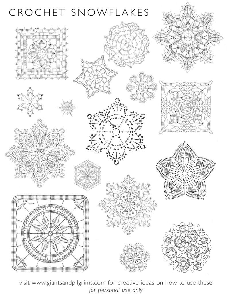 Crochet Snowflakes copy