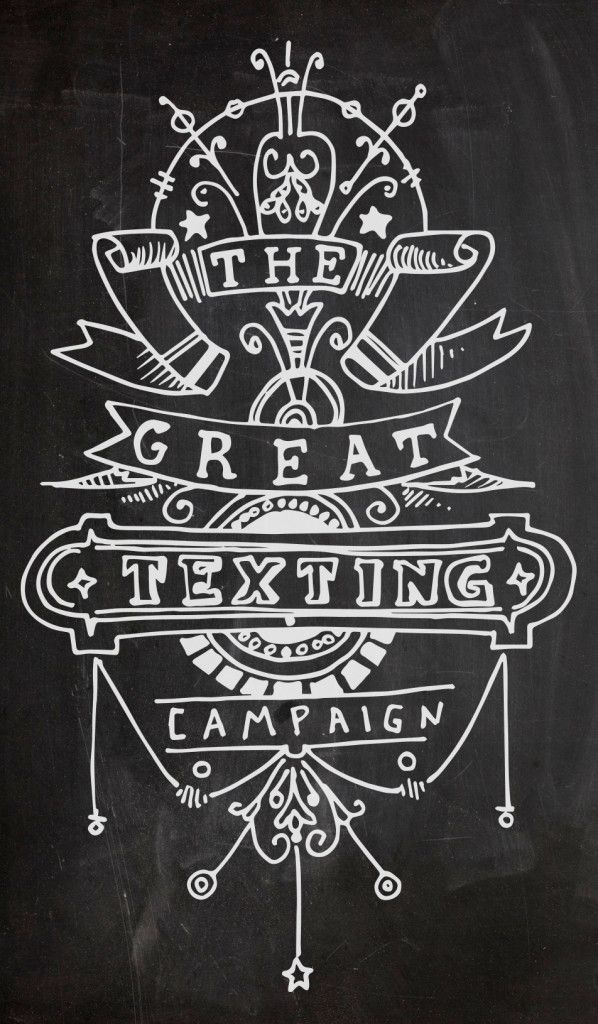 texting campaign_chalk
