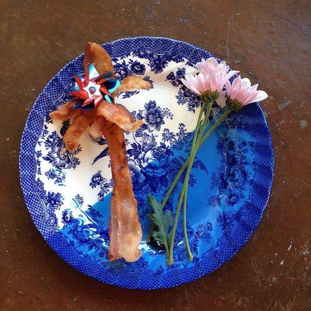 bacon flower