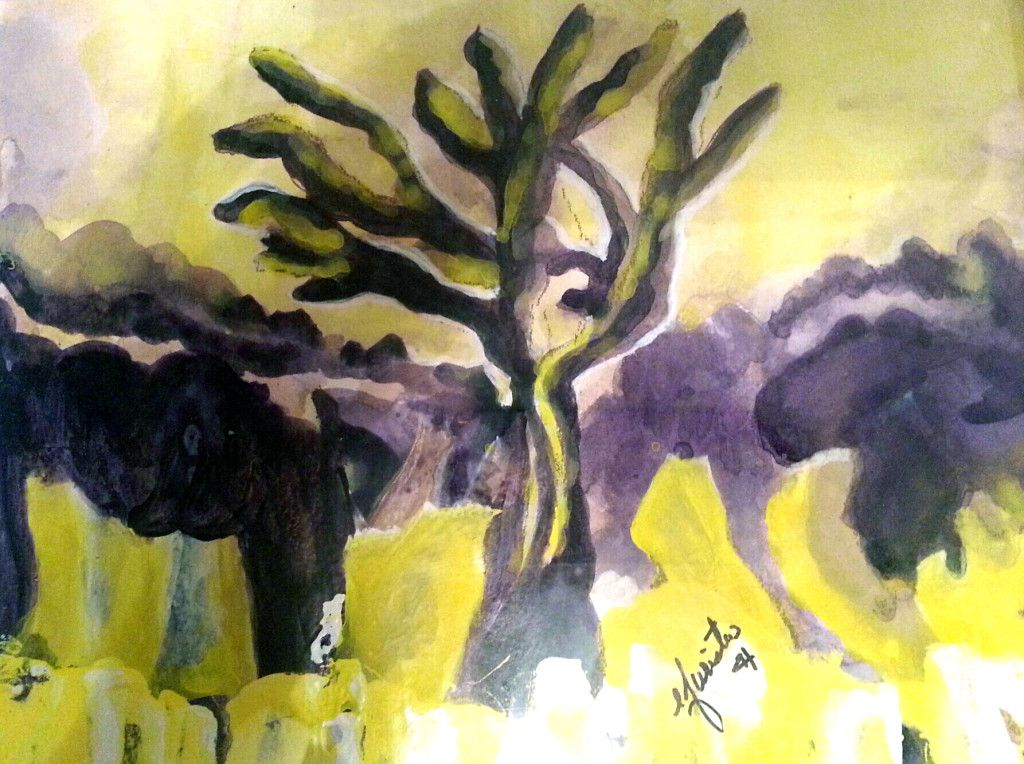 Elaine Furister_The Velvet Tree