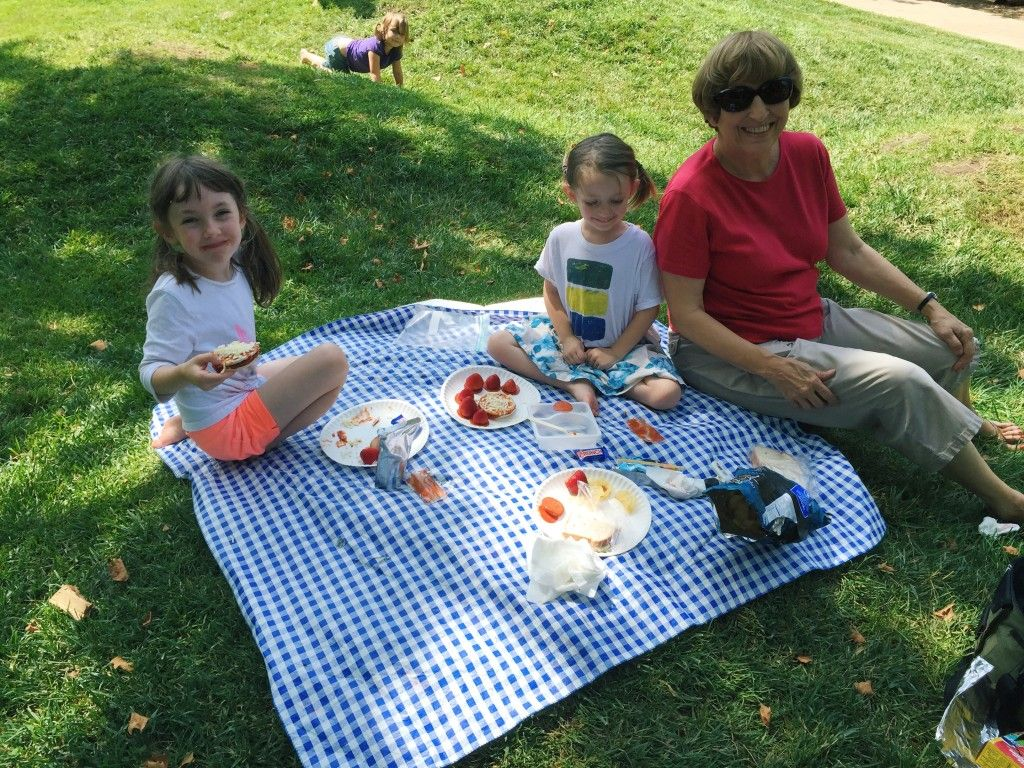 A picnic in the park with Grandma DiDi at Dillon Nature Center - Photo by Giants and Pilgrims
