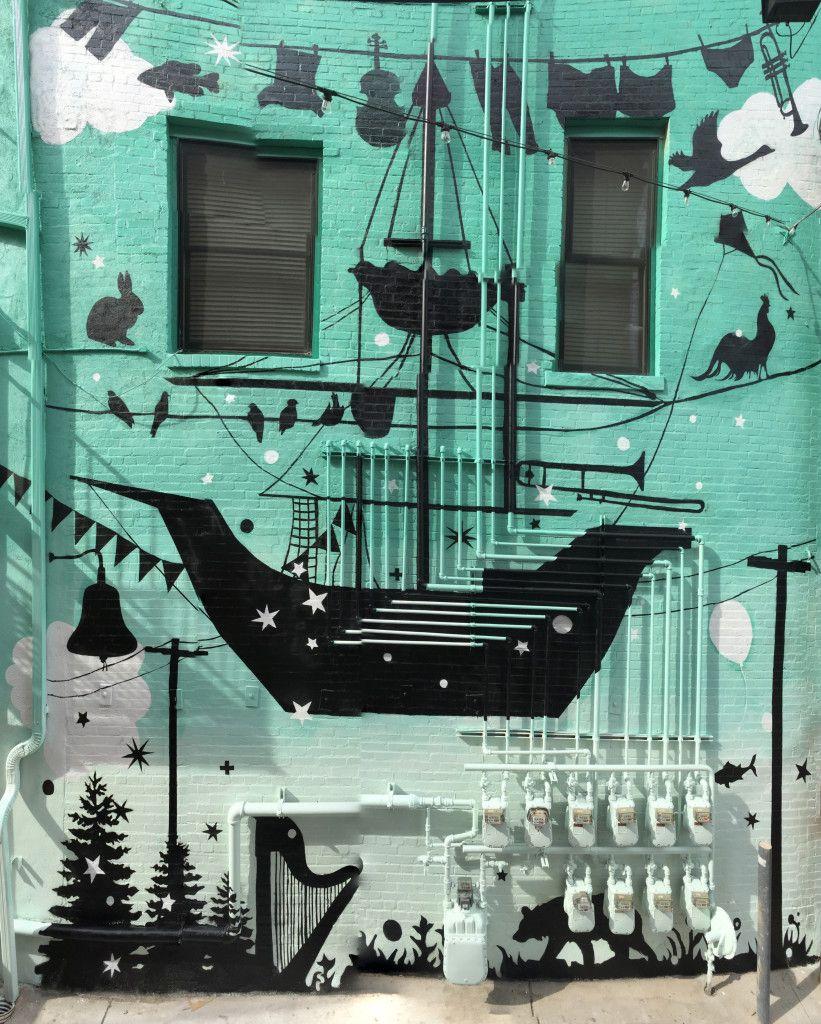 Betony Coons downtown Greeley Mural www.giantsandpilgrims.com