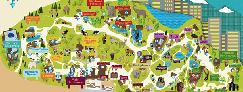 zoo-map