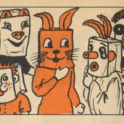 1952 Halloween Illustration
