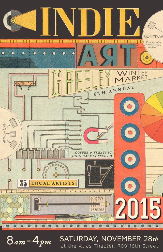 Indie Arts Greeley Poster